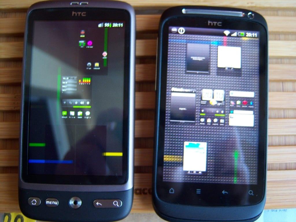 HTC Desire y HTC Desire S