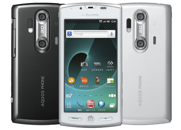 Sharp Aquos Phone SH-12C, nuevo smartphone 3D para japón