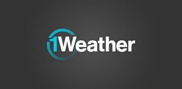 1weather una aplicacion para el pronostico del tiempo en Android