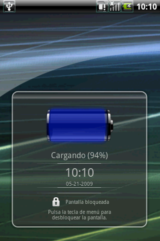Tema Aero android despues