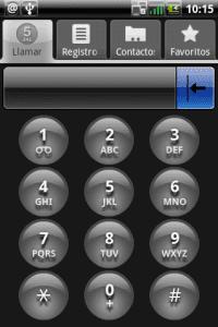 Teclado numerico android