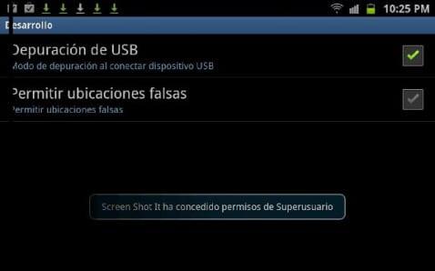 Depuración Usb Galaxy S