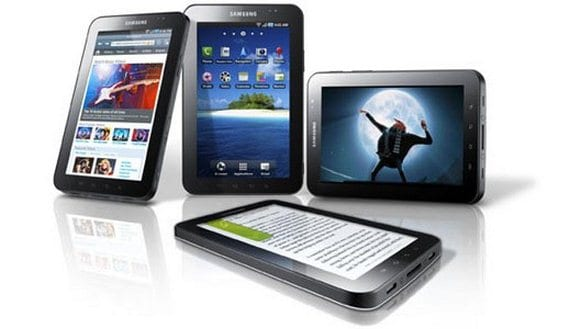 "Samsung Galaxy Tab 7"" modelo p-1000"