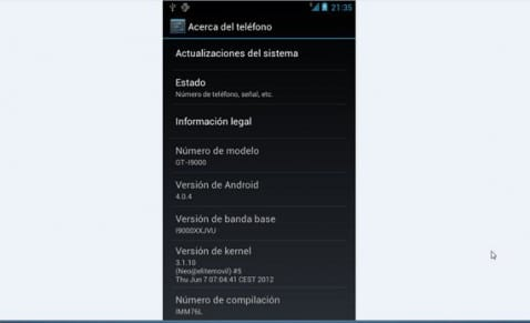 Rom Gnex Stock 1.4.1 Android 4.04 by Elite