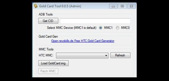 GoldCard Tools
