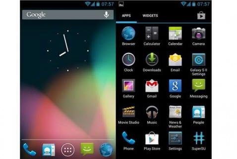 Rom SuperNexus para el Samsung Galaxy SII
