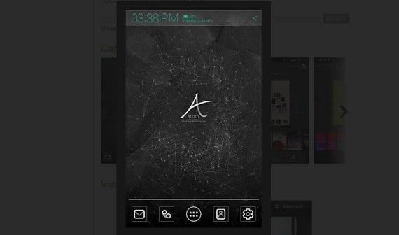 Atom Launcher, un Launcher elegante para Android 4.0 ICS