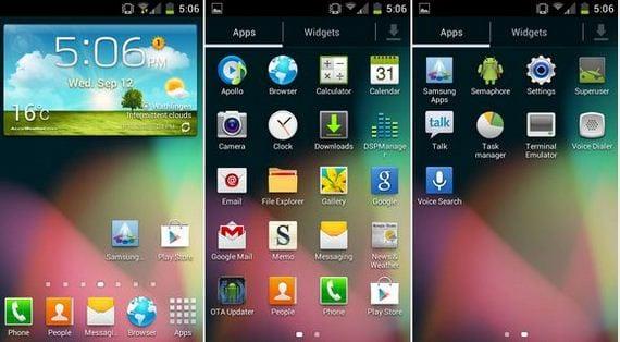 C-Rom Bean 1.8.0 para el Samsung Galaxy S GT-I9000 OTA