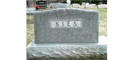 La muerte de Kies