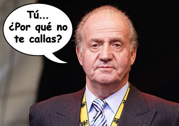 S.M.Rey de España D.Juan Carlos, ¿Por qué no te callas?