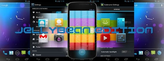 Rom Jelly Bean Android 4.1.1 Codename 3.5.0 para varios dispositivos