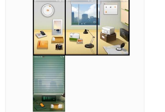 Nuevo escritorio virtual, dos escritorios en uno Miui