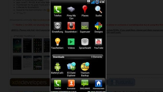 Launcher LG Optimus UI 2.0 para Roms basadas en Cyanogen