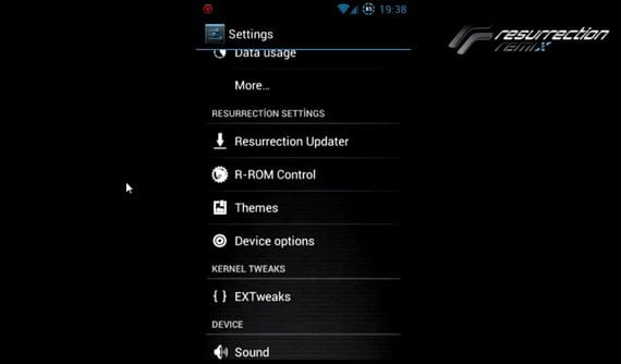 Samsung Galaxy S2, Rom Resurrection Remix JB AOKP Con Aroma Installer