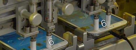Samsung Galaxy S3 Test Resistencia