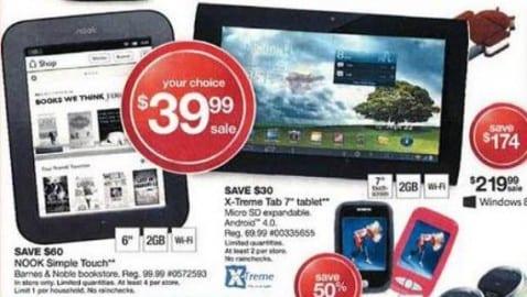 Grandes descuentos en Tablets Android por el Viernes Negro