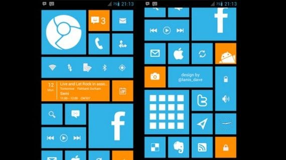 Launcher al estilo de Windows 8 y gratuito