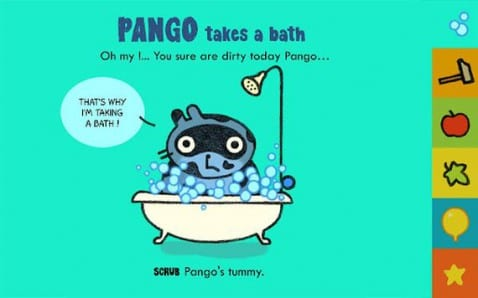 Pango, Libros interactivos para los más pequeños de la casa