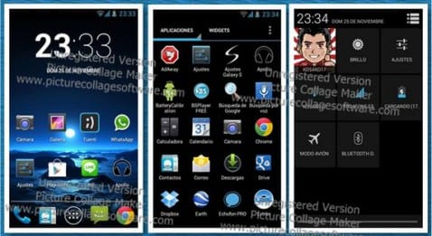 Samsung Galaxy S, Creed Rom V10 Android 4.2