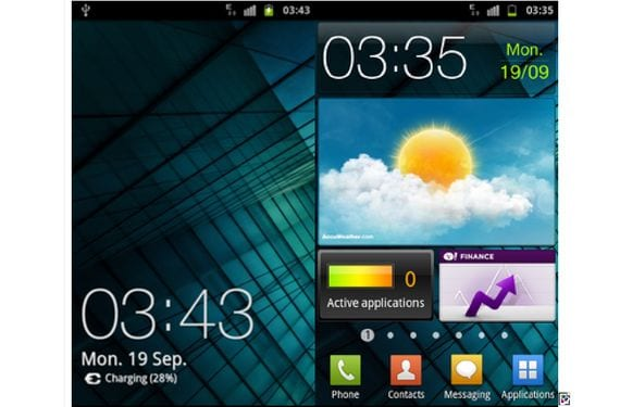 Samsung Galaxy S, Rom F1 Galaxy SII V8 Final Beta XXJVU