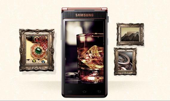 Samsung SCH-W2013 un teléfono de lujo