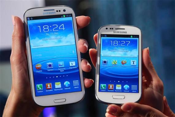 El Galaxy S3 mini con Android 4.1.2 instalado de fábrica