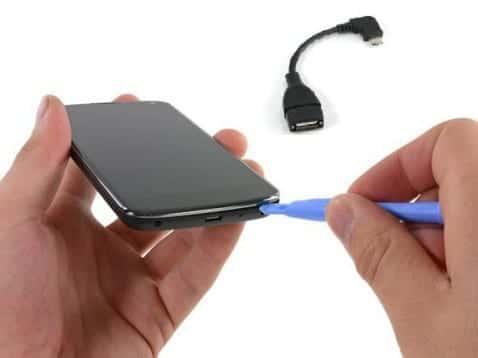 No se puede usar el USB de Nexus 4 para accesorios