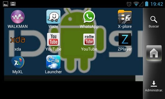Samsung Galaxy S, CreedRom V11, Android 4.2.1