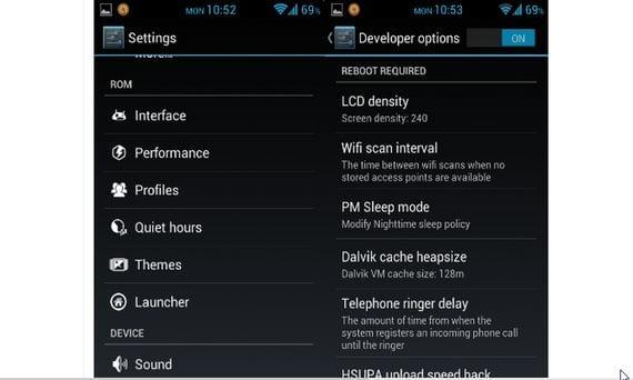 Samsung Galaxy S, Rom Beast 4.2.1 con Linaro Toolchain