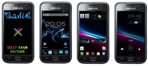 Samsung Galaxy S, Rom Tsunami X 4.2 AOKP-JB Mr1