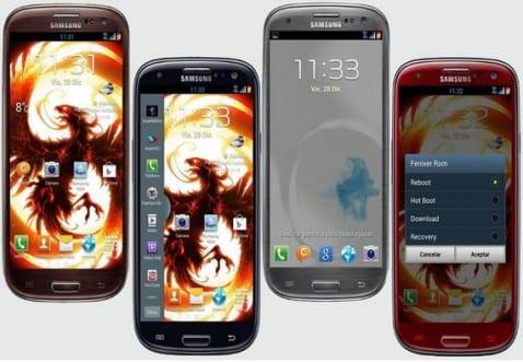 Samsung Galaxy S3, Fenixer Rom V12 _Android JB 4.1.2
