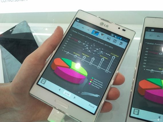 MWC 2013, nos enseñan el LG Optimus Vu 2