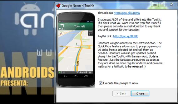 Unlock, Root y Recovery para el Nexus 4