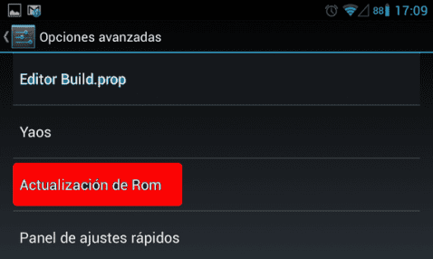 Samsung Galaxy S, Rom Galaxy Nexus Android 4.1.2 RC2 de Elitemovil