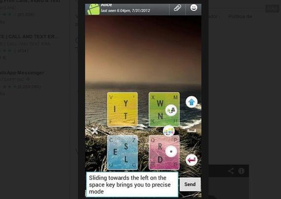 Snapkeys Si (BETA), Un teclado para Android alucinante y gratuito