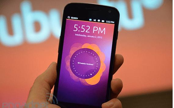 Ubuntu Phone para Octubre de este mismo año