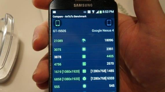 Benchmark Samsung Galaxy S4