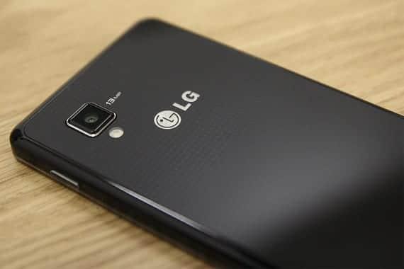 LG Optimus G trasero