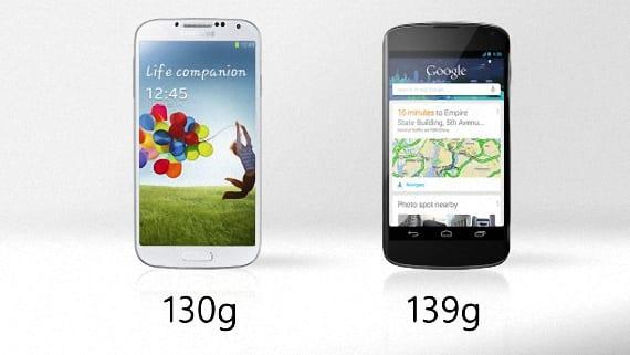 Nexus 4 o Samsung Galaxy S4 04