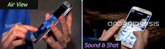 Samsung Galaxy S4, Air View y Sound & Shout, dos funciones espectaculares
