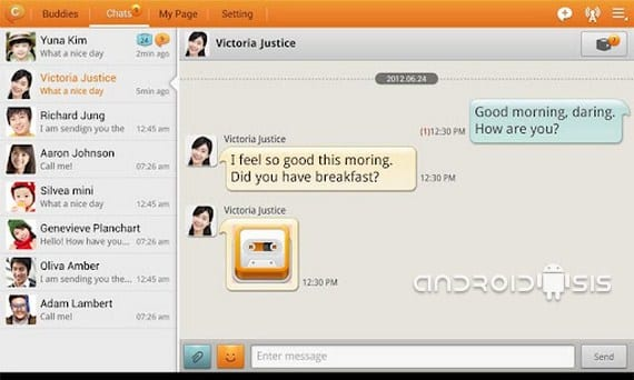 ChatOn, un buen sustitutivo de WhatsApp