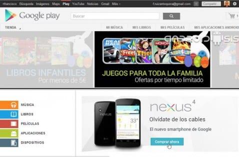 Cómo usar la tienda de aplicaciones de Android desde el PC, Google Play