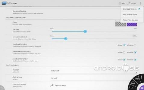Fullscreen, para sacar provecho a toda la pantalla de tu dispositivo