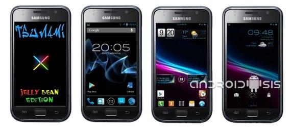 En breve nueva actualización de la rom Tsunami X para el Samsung Galaxy S