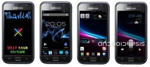 Samsung Galaxy S, Rom Tsunami X4.5 actualización 9/3/13