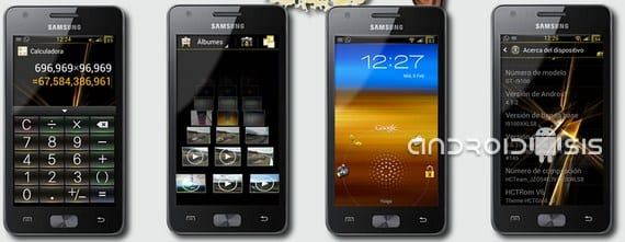 Samsung Galaxy S2, HCTRom V6.1 Android Jelly Bean 4.1.2