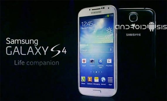 Samsung Galaxy S4, imagen del sistema disponible para descarga