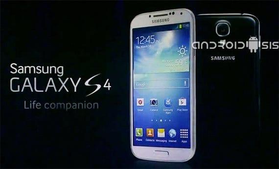 Samsung Galaxy S4, imagen del sistema disponible para descarga