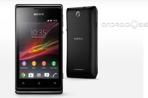 Sony Xperia P, E y Go, próxima actualización a Android 4.1 Jelly Bean