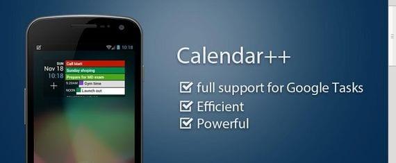 Calendar ++ Free, un calendario con muchísimas opciones